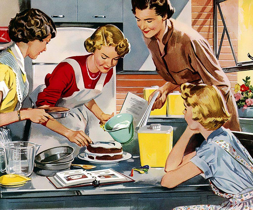 cuisine retro