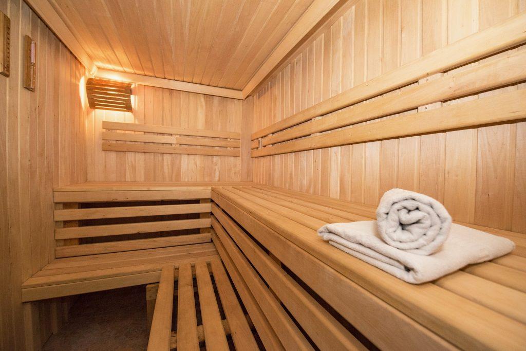 sauna bois