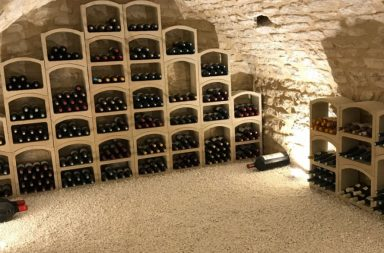 amenagement cave a vin
