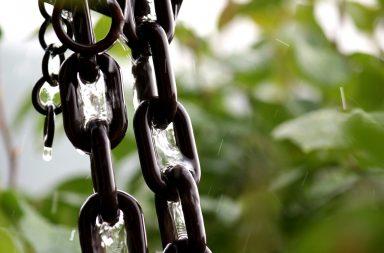 chaîne de pluie