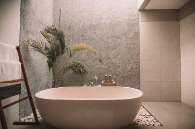 salle de bain vegetation